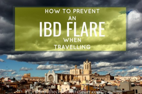 how to prevent an IBD flare when travelling