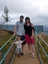 At Waimea Canyon,which was spectacular (but scenery photos are kind of boring so I haven't included any here)