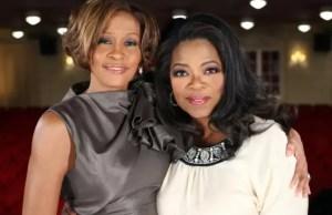Oprah Winfrey photographed with Whitney Houston 2009