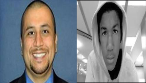George Zimmerman and Travon Martin