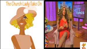 """""""The Church Lady and Wendy Williams"""""""