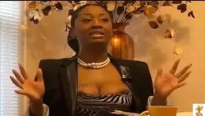 Female preacher exposes breast during sermon 3