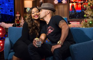Caught In Another Lie? Shemar Moore DENIES Dating Phaedra Parks [VIDEO]