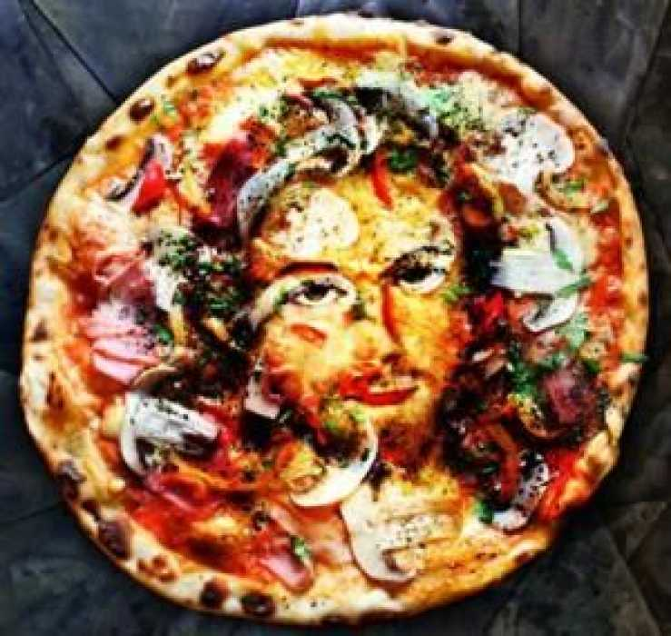 Jesus in Pizza