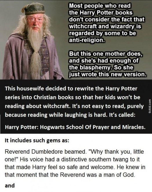 Harry Potter - The Christian Version