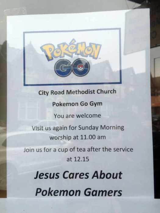 Pokemon-Church