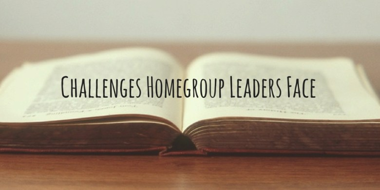 Church Housegroup Challenges