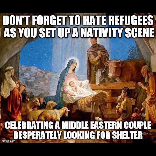 When Setting Up A Nativity Scene...