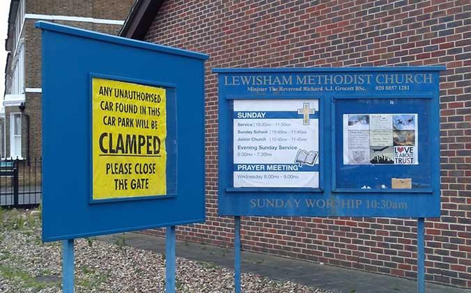 Church-Notice-Board-Clamped