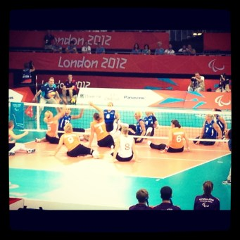 Sitting Volleyball Final at the Excel Centre - Paralympics 2012