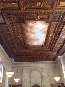 NY Library ceiling