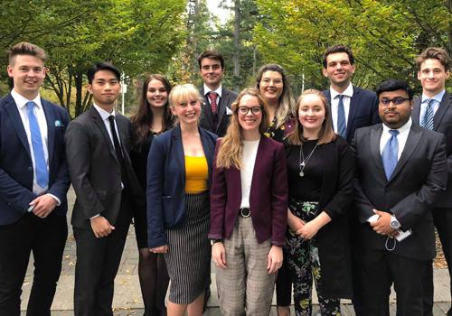CIC Victoria: University of Victoria's Model UN Club and 2018 Conference