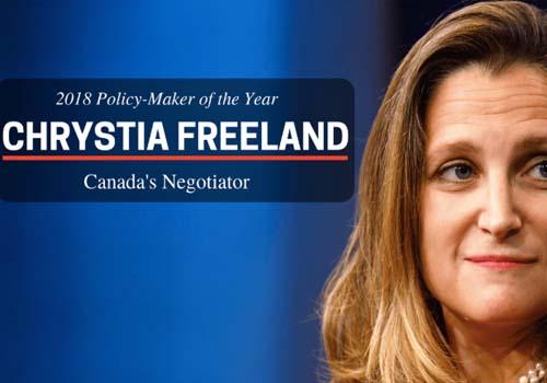 MLI: Policy Maker of the Year: Chrystia Freeland