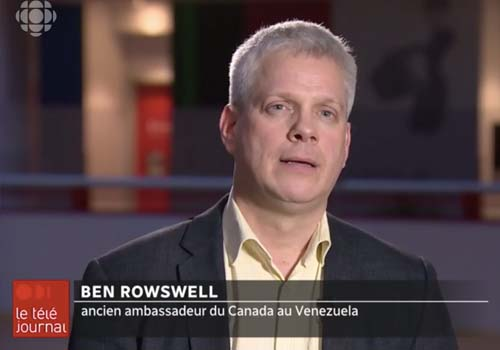 ICI Télé: Juan Guaido se proclame Président du Venezuela;  Washington et Ottawa le reconnaissent
