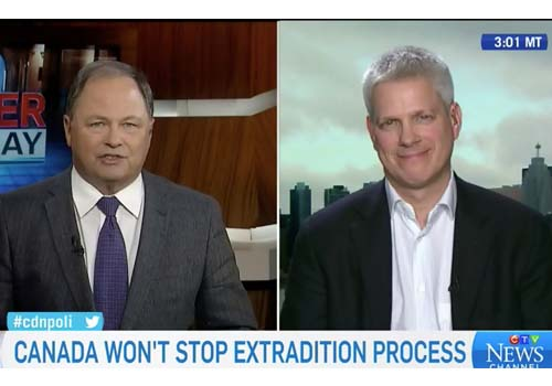 CTV: Canada won't stop extradition process