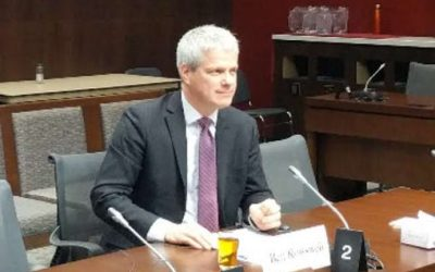 CIC President Ben Rowswell speaks to Senate Committee on Foreign Affairs and International Trade