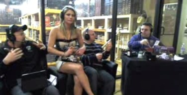 Smoking Ortsac Cigars with the Smoking Hot Pit Girls