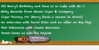 Webcast: Cigar Pairing With Willy Marante & David Ortiz