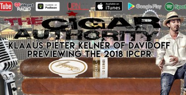 VODCast: Lighting Up A Davidoff 702 As We Preview The 2018 IPCPR