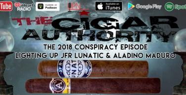 The  2018 Conspiracy Theory Show With JFR Lunatic & Aladino Maduro