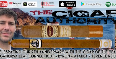 Celebrating Our 9th Anniversary With the Cigar of the Year