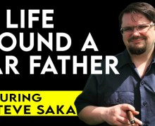 VODCAST: Live With A Cigar Father Featuring Jon & Steve Saka