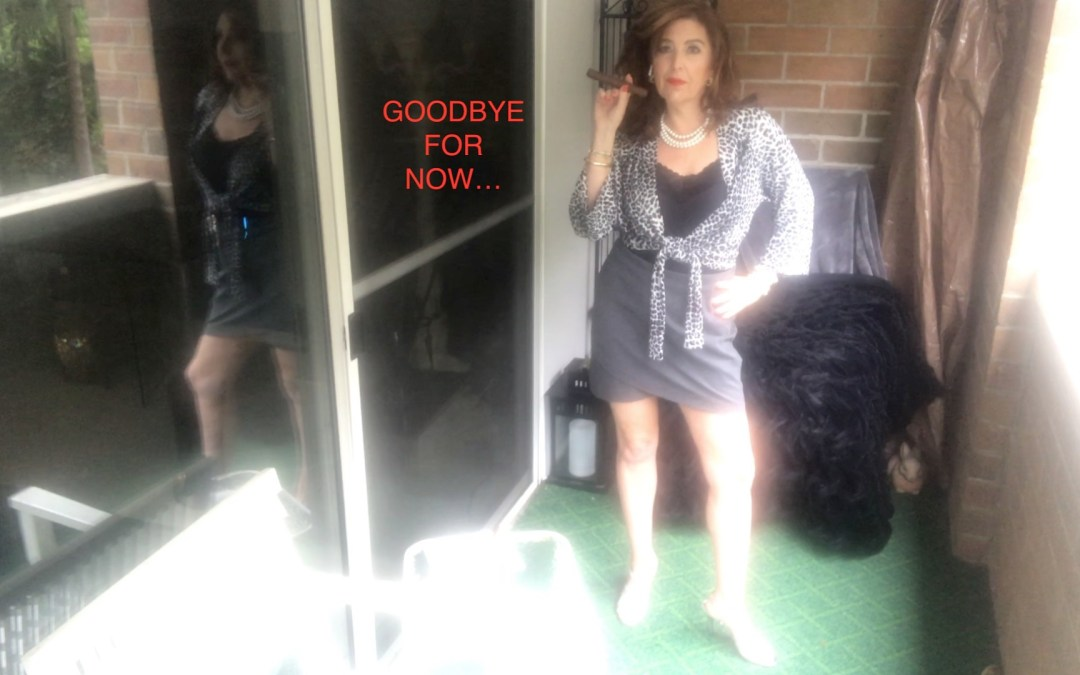 """Goodbye For Now!…Due To Other Exciting Projects, I will not have the time required to keep up with Social Media…This Will Be My Last Video For Now…if necessary I can be reached through the Website """"contact Ramona""""…I Love You!!!…Love, Ramona The Cigar Lady"""