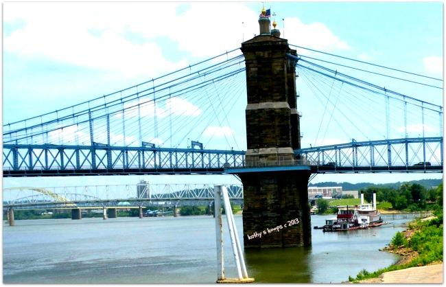 Bridge to Cincinnati Ohio