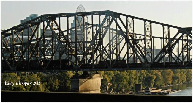 Railroad Bridge from Cincinnati Ohio