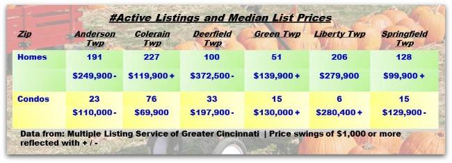 Cincinnati Townships Real Estater Weekly Update 111213