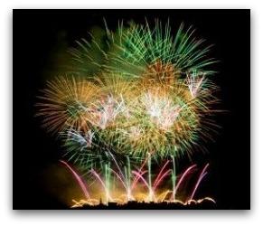 Cincinnati 2104 Labor Day Fireworks