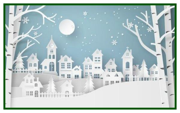 Cutouts of holiday homes