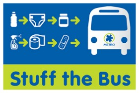 Cincinnati Metro Stuff the bus logo