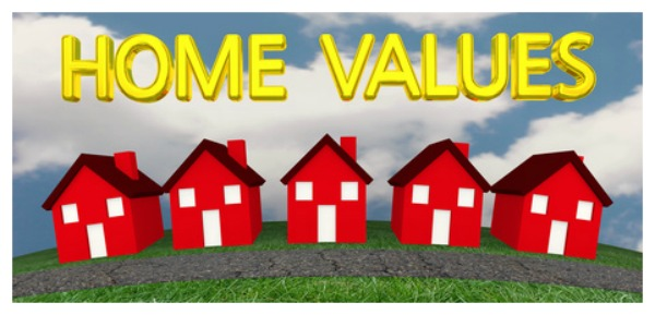 Real estate values, coldwell banker