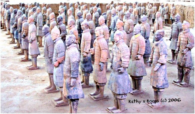 Terracotta Soldiers at Cincinnati Art Museum