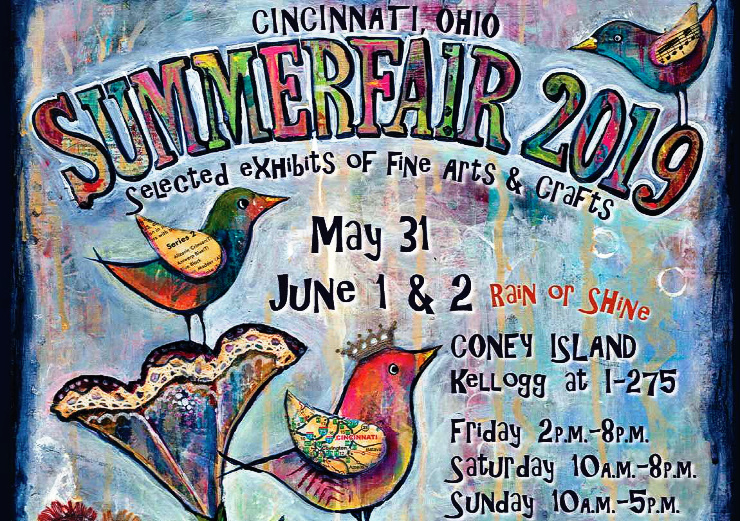 2019 Summerfair Poster