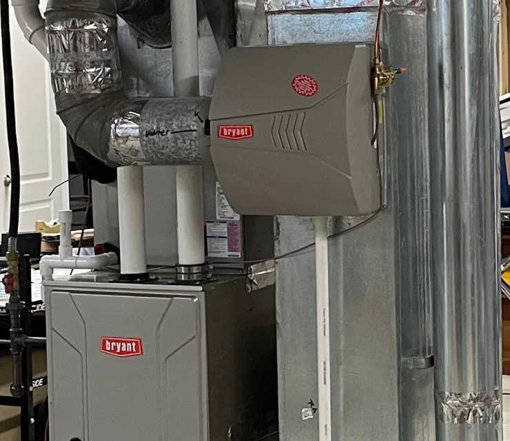 photo of HVAC system
