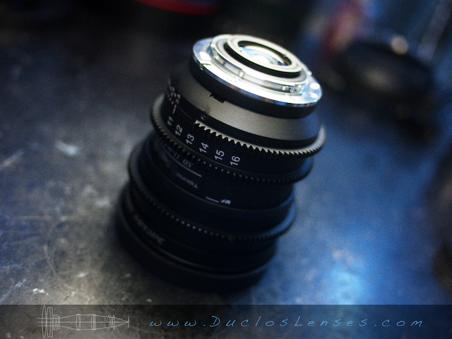 Duclos 11-16mm Nikon-F Mount