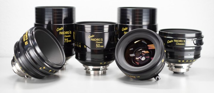 Cooke Panchro/i set of lenses.