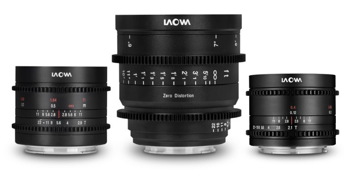 Laowa Expands Cine Line with 7.5, 9, and 15mm
