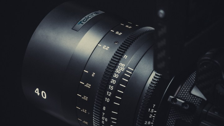 40mm T1.5 Joins Tokina Cinema Vista Primes