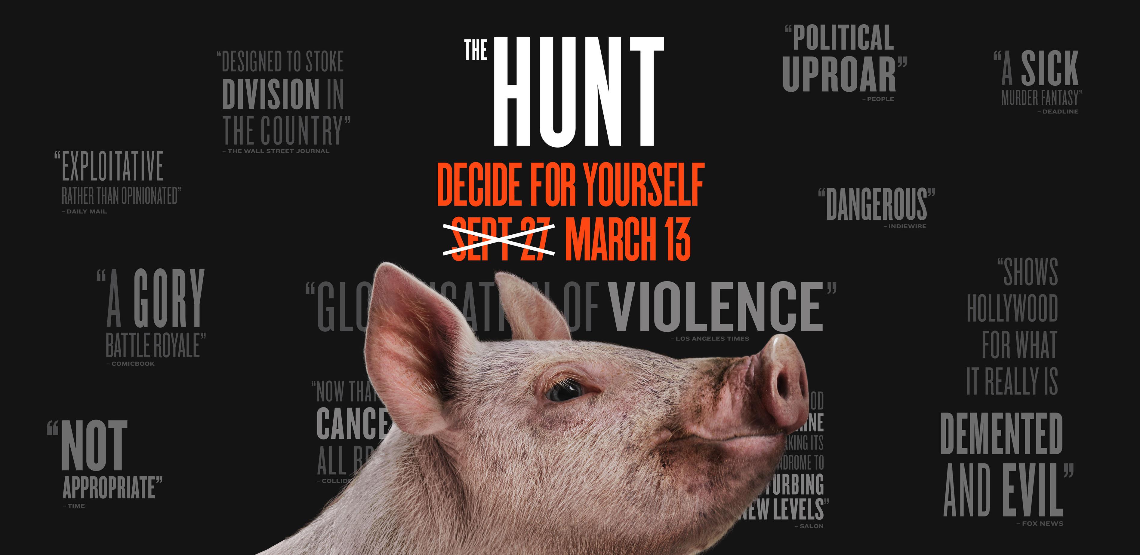 THE HUNT (2020) จับ ฆ่า ล่าโหด