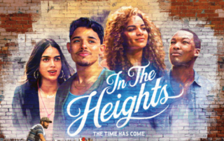 In the heights film banner