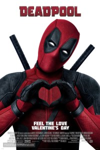 Deadpool Valentine's Day Poster