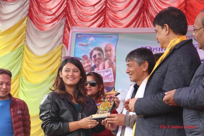 barsha raut chhakka panja success party with maha jodi