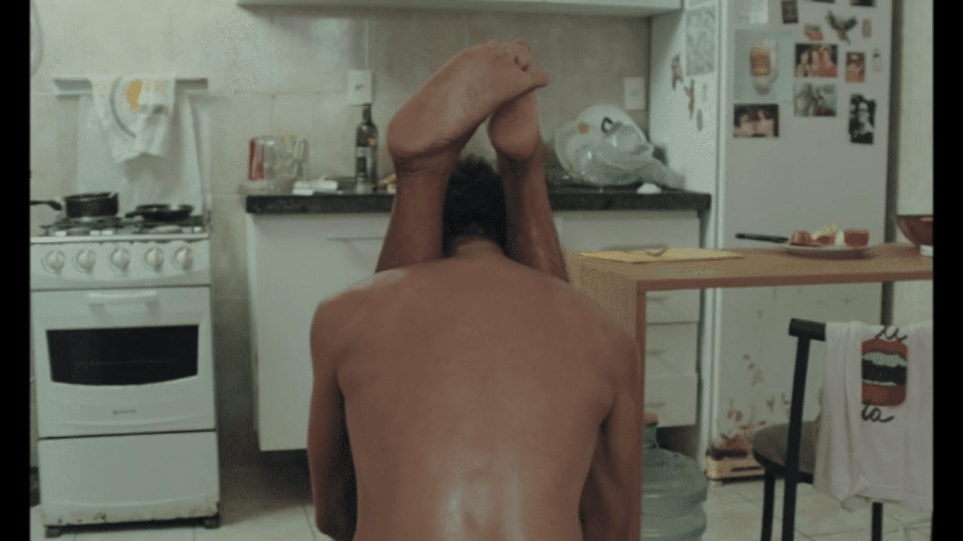 Film still from Daytime Doorman, a gay themed movie from Brazil