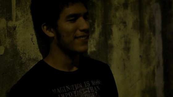 film still from the Brazilian gay short film De terça pra quarta or Tuesday Overnight