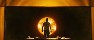 Shot from Danny Boyle's Sunshine