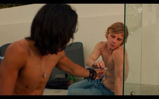Scene from Australian movie, Teenage Kicks