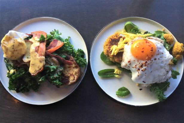 Brunch specials at Established Coffee